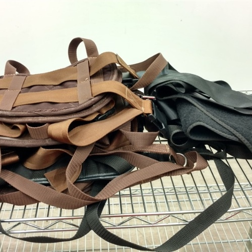 Lot of 7 Traction Belts