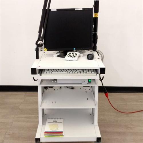 Panasonic WV-CP504 SD5 Security Color Camera / Natus Medical Nicolet EEG v32 Amplifier w/ Cart