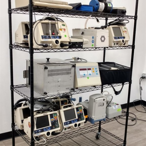 Lot of Equipment / LifePak Defibrillators