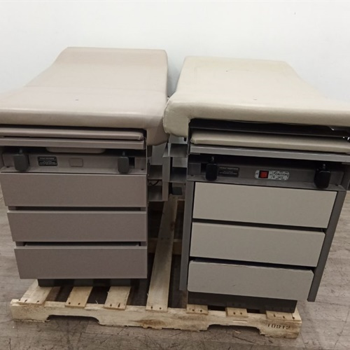 Lot of 2 Ritter 104 Exam Tables