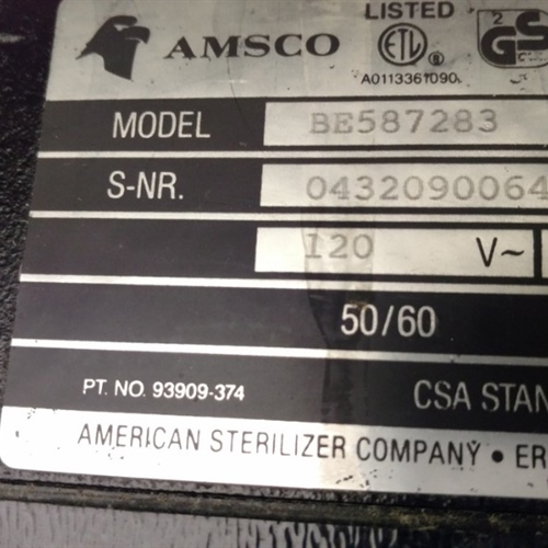STERIS AMSCO 3080 Surgical Table (BE-587283)