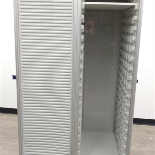 Large Rolling Cabinet  (No Key)
