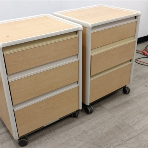 Lot of 2 Rolling Drawers