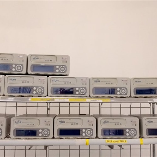 Lot of 12 MDR Medical Digital Recorder
