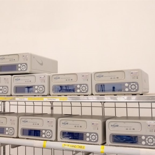 Lot of 12 MDR Medical Digital Recorder