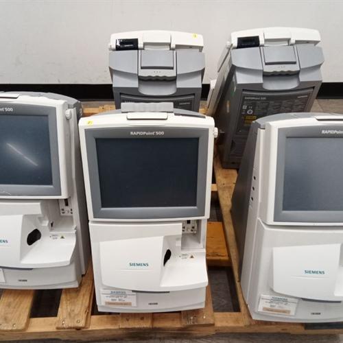 Lot of 5 Siemens Rapid 500