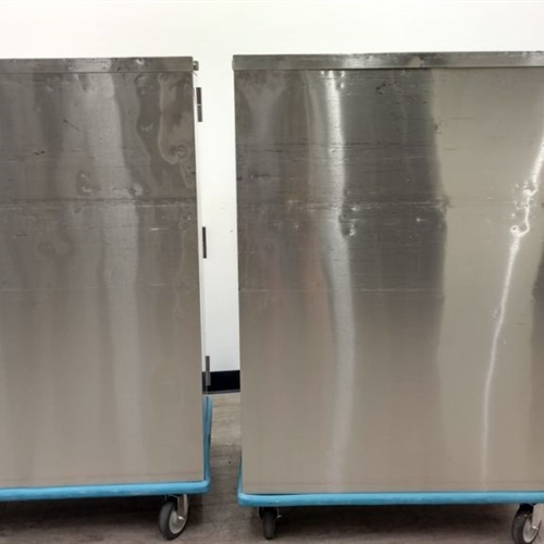 Lot of 2 Rolling Storage Carts
