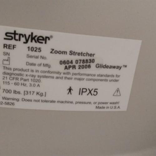 Stryker 1025 Zoom Stretcher