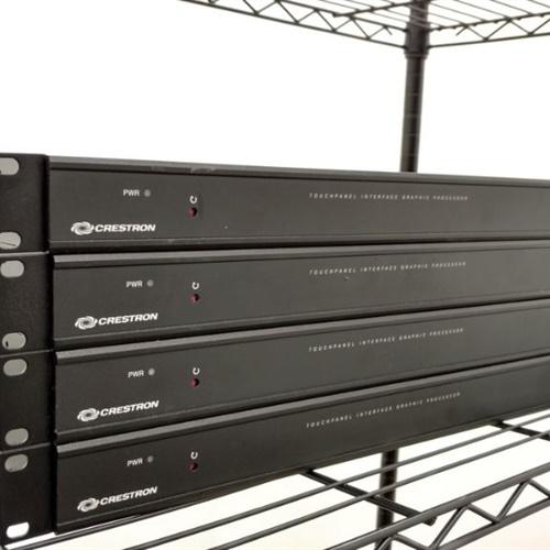 Lot of 4 Crestron Touchpanel Interface Graphic Processor TPS-GA-TPI