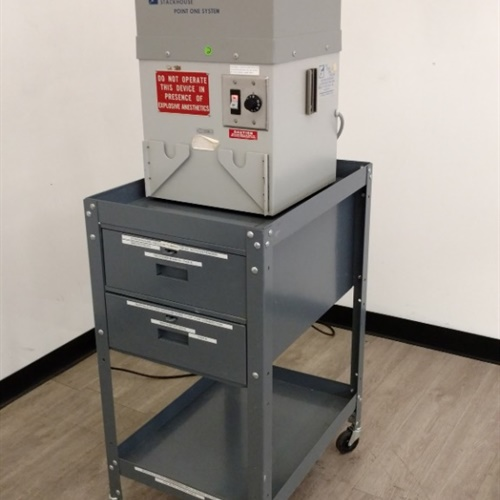 Stackhouse Point One System Smoke Filtration Unit w/ Rolling Cart