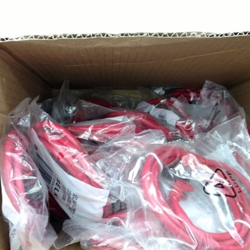 Lot of 24 - Belkin A3L980-05-RED-S Cat6 Patch Cable - RJ45M