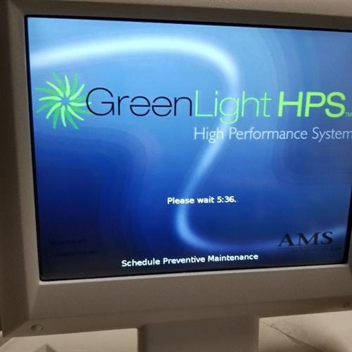 2007 Greenlight HPS Laser System #3
