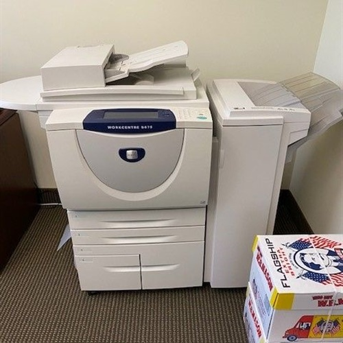 Xerox WorkCentre 5675 Multi-Function Device w/ Lots of Toner