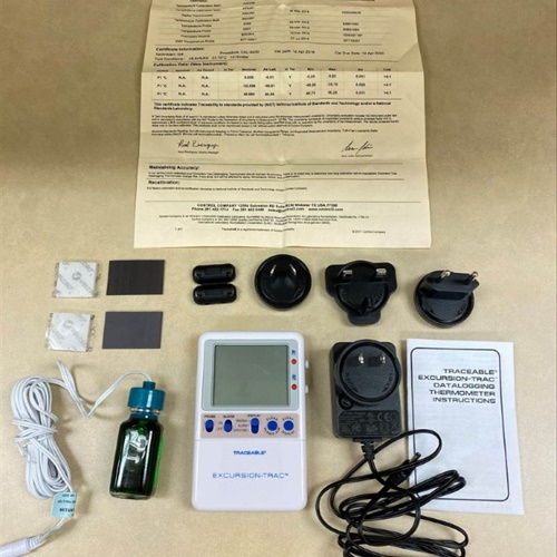 Traceable Excursion-Trac Data Logging Thermometer (Model 6430)