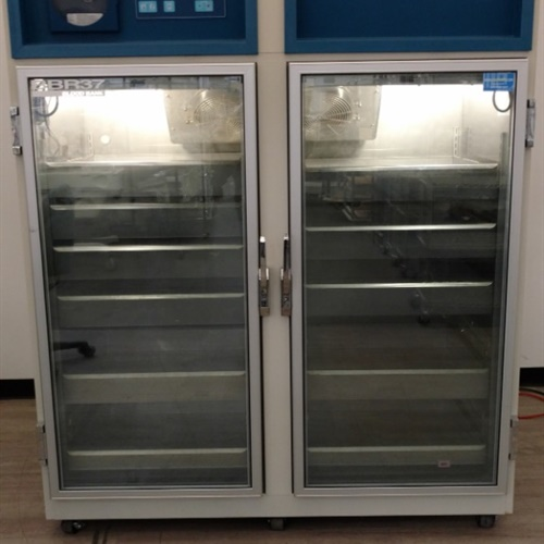 Jewett HemaPro 2000 Blood Bank Plasma Refrigerator Freezer Double Doors