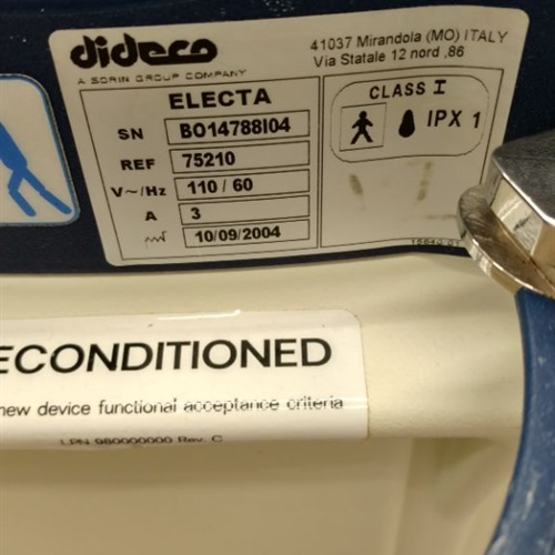 Sorin Dideco Electa Concept Essential Surgical Blood Autotransfusion System REF: 75210