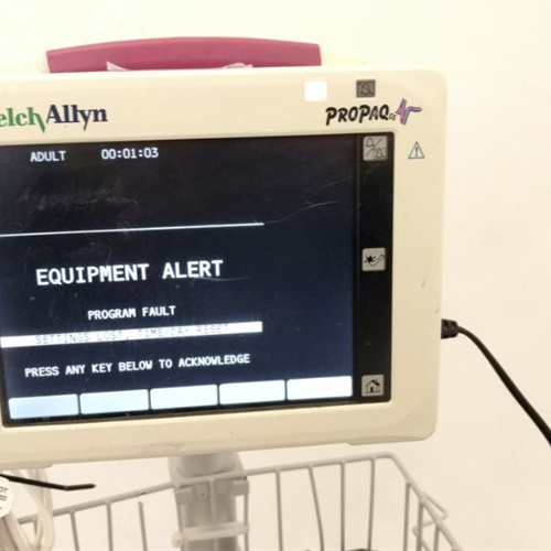 Welch Allyn ProPaq 244 Vital Signs Monitor w/ Stand