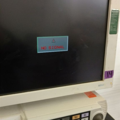 GE SOLAR 8000M & MD15 Monitor (2028679-002)