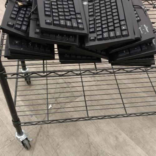Lot of 15 - GE Seal Shield Keyboards