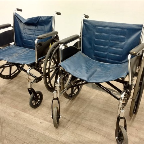 Lot of 2 Invacare Wheelchair