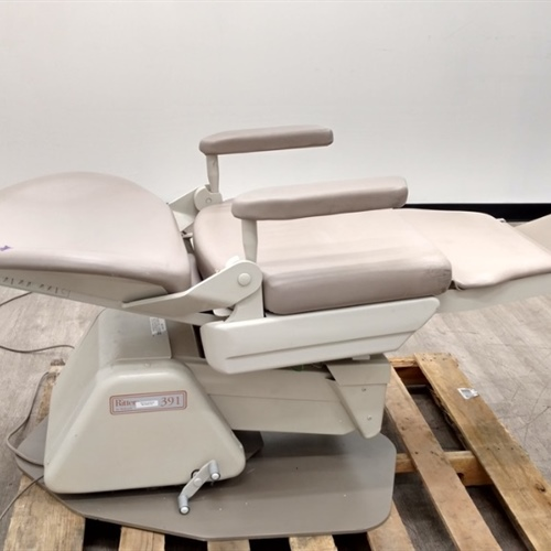 Ritter 391 Exam Procedure Chair