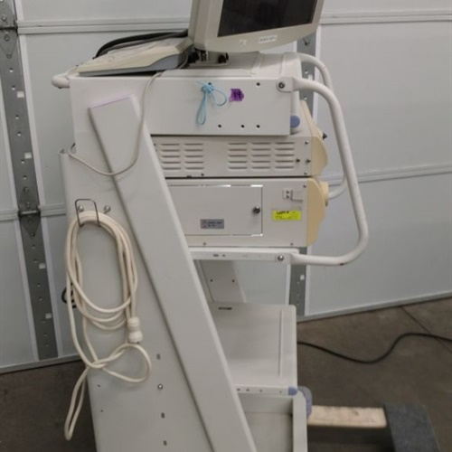 Olympus CV-180 Processor & CLV-180 Light Source System W/ Keyboard, Monitor & Rolling Cart