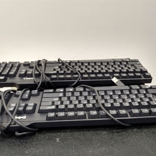 Lot of 2 Dell SK-8115 Keyboards