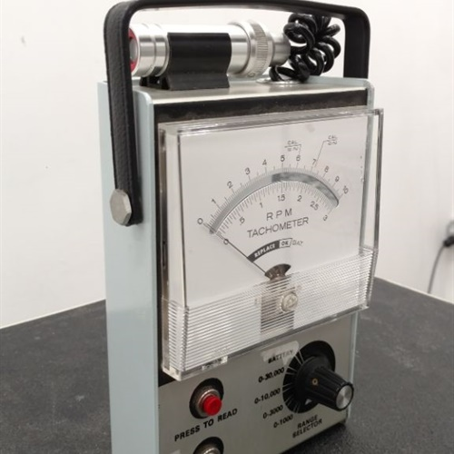 RPM Photoelectric Tachometer