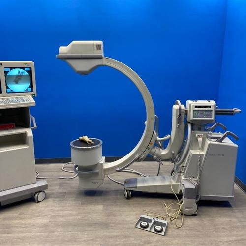"GE OEC 9800 12"" Vascular 15FPS C-arm"