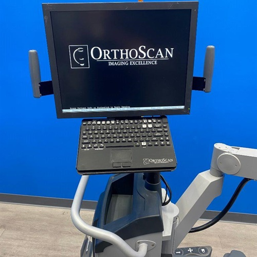 2013 OrthoScan HD 1000 Mini Mobile C-arm