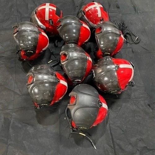 Lot of 24 Alpha Eagle Flight Helmets