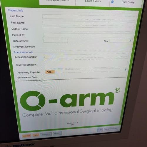 2009 Medtronic O-Arm