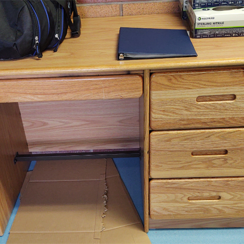 Small Wood Desk for Kids at Wasatch Canyons