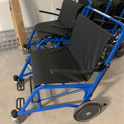 Group of 5 Staxi Bariatric Wheelchairs