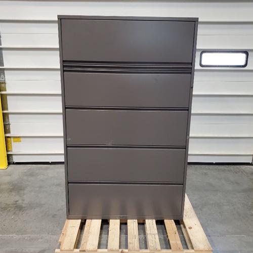 5-drawer file cabinet