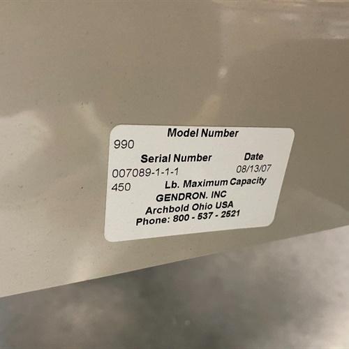 Gendron 990 Stretcher