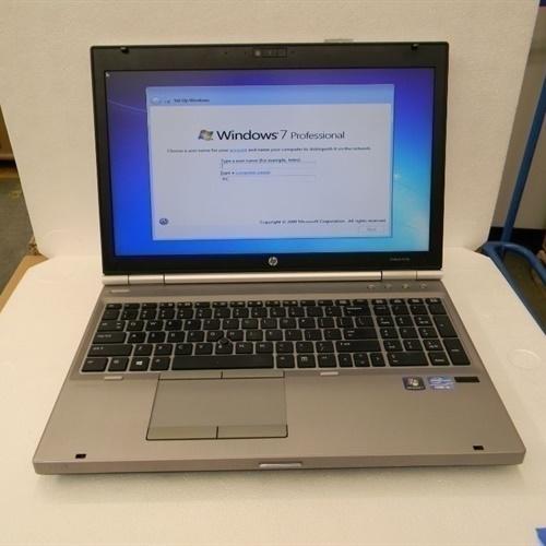 "HP ELITEBOOK 8570P 15.6"" i5-3230M 2.60GHz 8GB RAM"