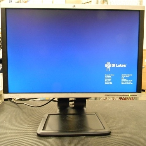 HP LA2205WG LCD Monitor with cables