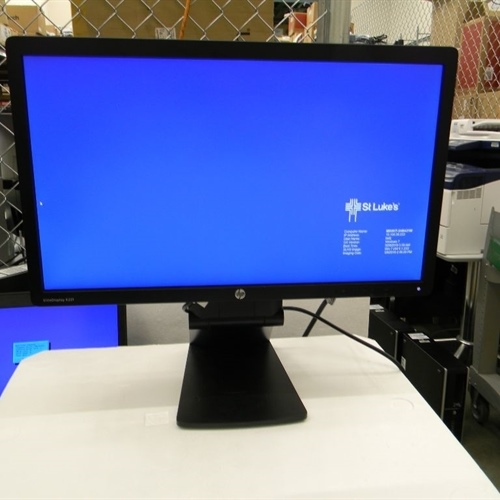 HP E221 Monitor with Cables