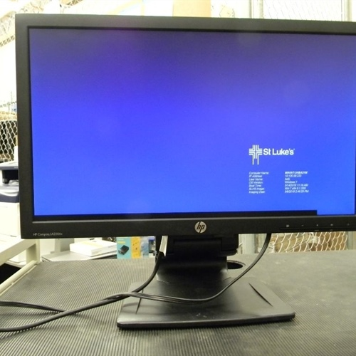 HP Compaq LA2206x 21.5-inch WLED Backlit LCD Monitor with cables