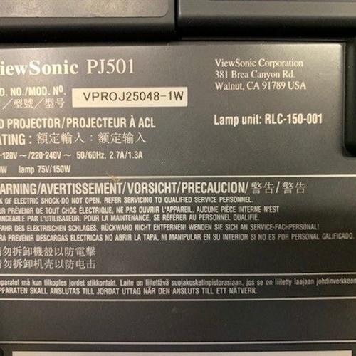 ViewSonic PJ501 LCD Projector