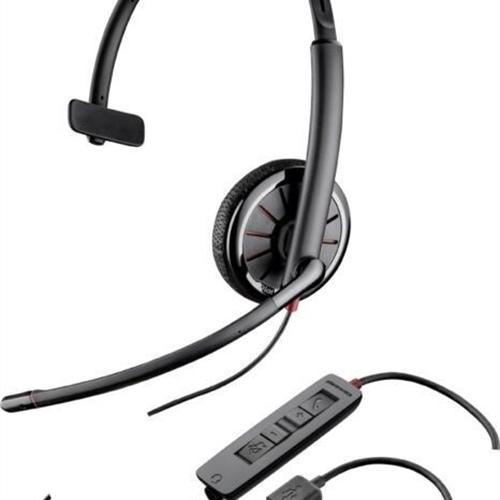 *New Plantronics BLACKWIRE C315 Black Headband Headset