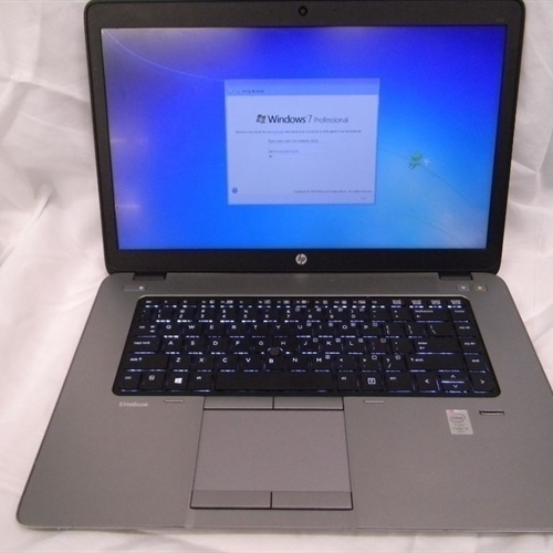 HP Elitebook 850 G1 Laptop i5-4200u 8GB, 128GB SSD Win 7 (*Lot of 5)