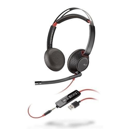 Plantronics  Blackwire C5220 USB Series Headset #207576-01 *New in Box